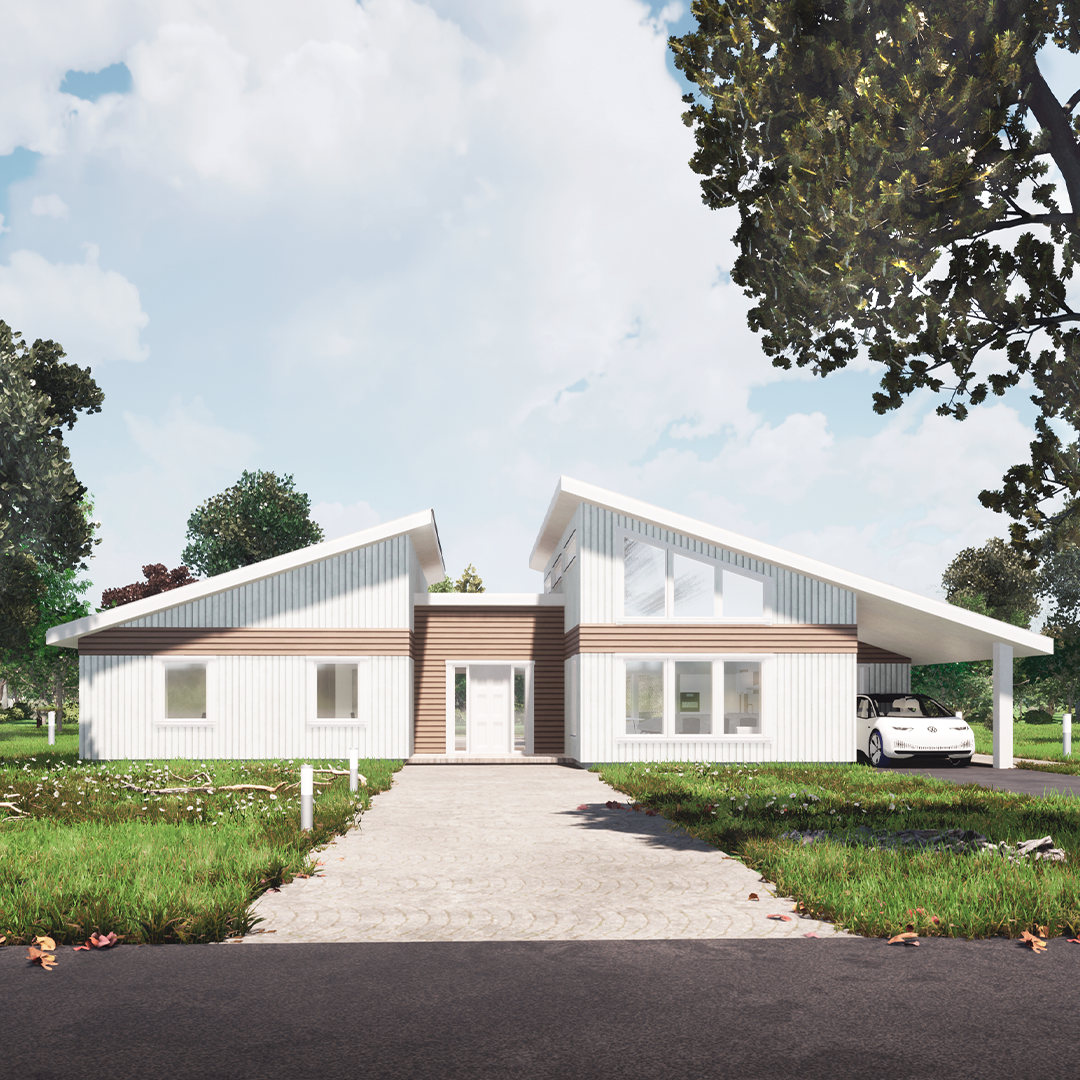 House model 3 - A sustainable home